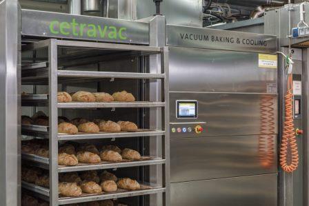 Вакуумное охлаждение хлеба