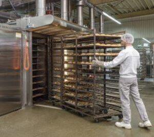 Камера вакуумного охлаждения хлеба