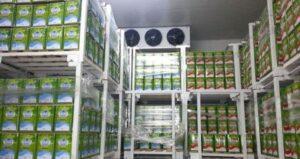 Камера хранения молочной продукции
