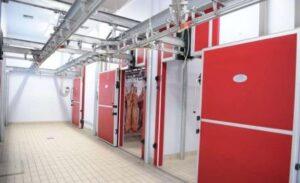Камера хранения охлажденного мяса