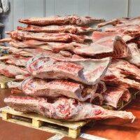 Хранение замороженного мяса