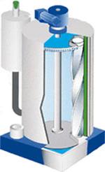 Схема льдогенератора гранyлированного льда