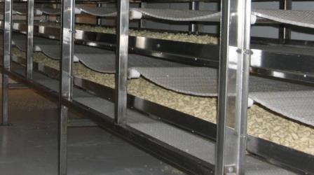 Туннельные холодильные конвейеры
